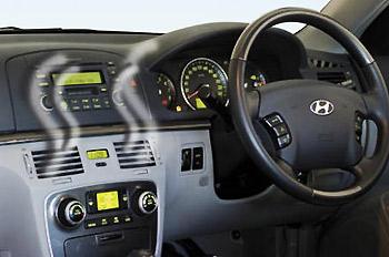 Hư hỏng thường gặp của máy điều hòa trên ôtô